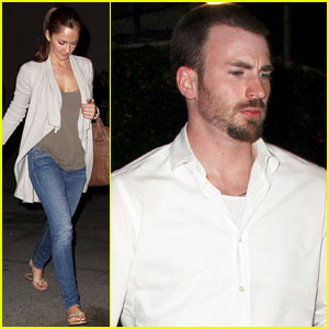 Minka Kelly & Chris Evans: Casa Vega Dinner Date!