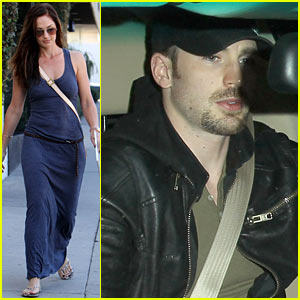 Minka Kelly & Chris Evans: Sayers Club Couple!