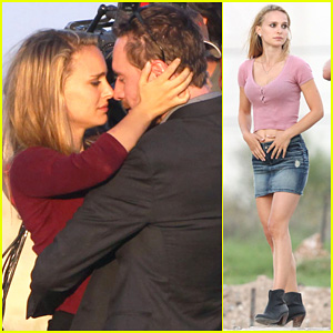 Natalie Portman: 'Untitled Malick Project' with Michael Fassbender!