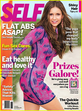 Nina Dobrev Covers 'Self' November 2012