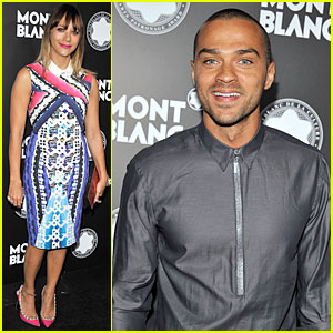 Rashida Jones & Jesse Williams: Montblanc Awards!