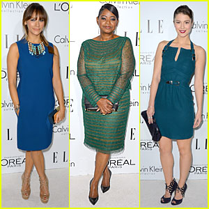 Rashida Jones & Octavia Spencer - Elle Women in Hollywood 2012