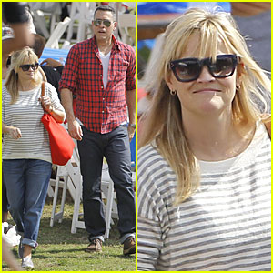 Reese Witherspoon &#038; Jim Toth: Carnival Couple in Brentwood!