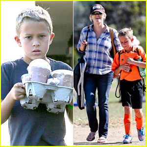 Reese Witherspoon: Soccer Saturday with Deacon ... Ryan Phillippe Instagram