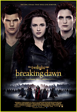 Robert Pattinson & Kristen Stewart: New 'Twilight Saga: Breaking Dawn - Part 2' Poster!