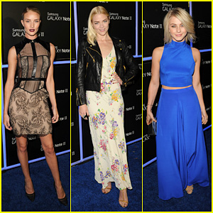 Rosie Huntington-Whiteley: Samsung Galaxy Launch Party!