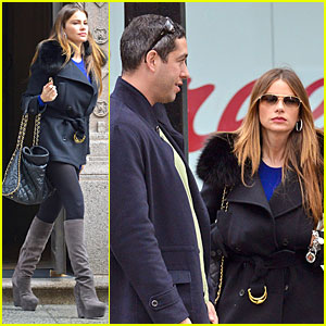 Sofia Vergara & Nick Loeb: Apartment Hunting Couple!
