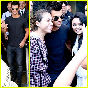 Taylor Lautner: 'I'm Ready For a New Chapter In My Life!'
