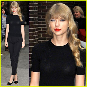 Taylor Swift: 'Late Show with David Letterman' Guest!