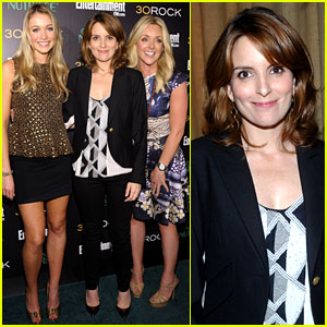Tina Fey & Jane Krakowski: '30 Rock' Final Season Party!