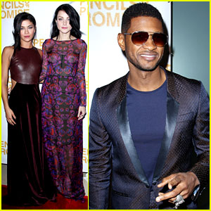 Usher &#038; Jessica Szohr: Pencils of Promise Gala 2012!
