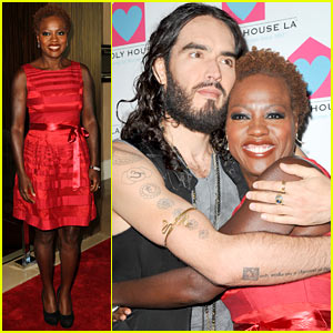 Viola Davis: Friendly House Awards Gala with Russell Brand!