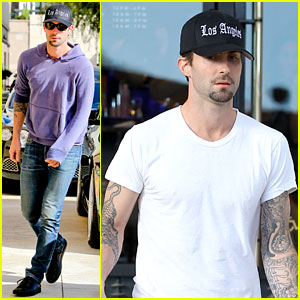 Adam Levine: Barneys New York Shopper!
