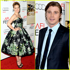 Amy Adams & Garrett Hedlund: 'On the Road' AFI Screening!
