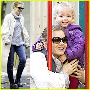 Amy Adams: Park Playtime with Aviana!