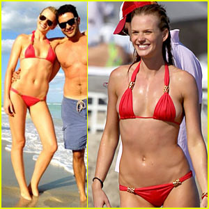Anne V: Bikini in Miami for Thanksgiving!