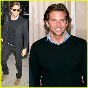 Bradley Cooper: 'Letterman' &#038; 'Silver Linings' Press Conference!