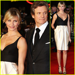 Cameron Diaz: 'Gambit' World Premiere with Colin Firth!