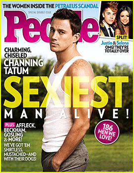 Channing Tatum: 'People' Magazine's Sexiest Man Alive 2012!