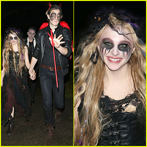 Chloe Moretz: Jonathan Ross Halloween Party!