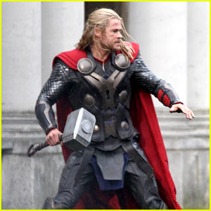 Chris Hemsworth: 'Thor: The Dark World' Set in London!