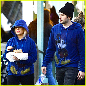 Christina Aguilera & Matthew Rutler: Disneyland Duo!