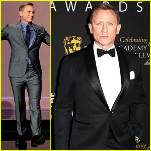 Daniel Craig: BAFTA Britannia Awards with 'Skyfall' Cast!