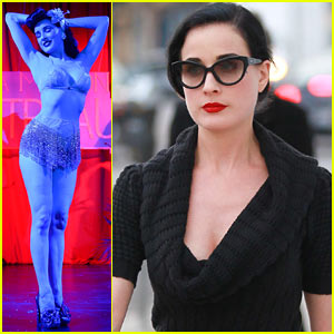 Dita Von Teese: La Maison Cointreau Burlesque Performance!