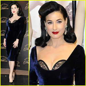 Dita Von Teese: 'Von Follies' Lingerie Launch!