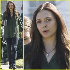 Elizabeth Olsen: 'Oldboy' Coffee Break