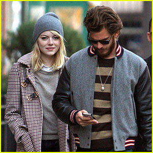 Emma Stone & Andrew Garfield: Chelsea Couple!