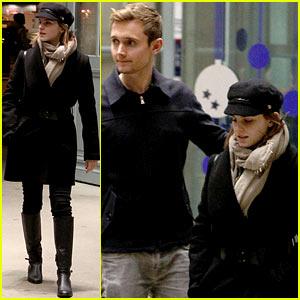 Emma Watson: Bundled Up in Paris!