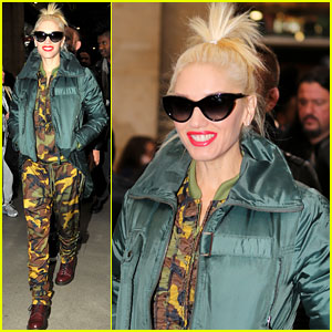 Gwen Stefani: Pretty in Paris!