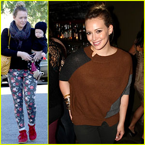Hilary Duff: Bristol Farms Shopping with Luca!
