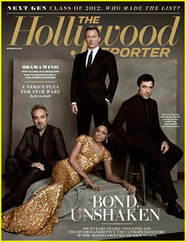 Daniel Craig & 'Skyfall' Cast Cover 'The Hollywood Reporter'