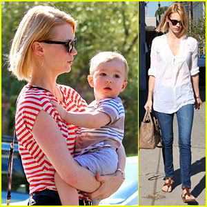 January Jones: Election Day Voter!