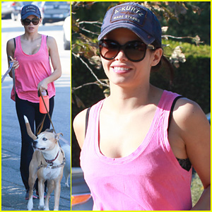 Jenna Dewan: Runyon Canyon Dog Hike!
