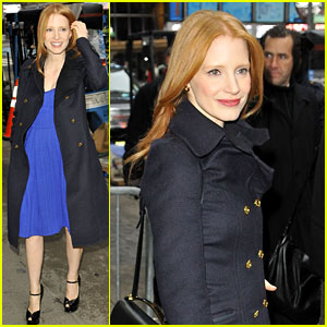Jessica Chastain: 'Good Morning America!'