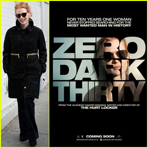 Jessica Chastain: New 'Zero Dark Thirty' Poster!