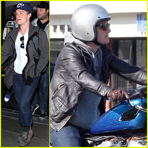 Josh Hutcherson: Back in L.A.!