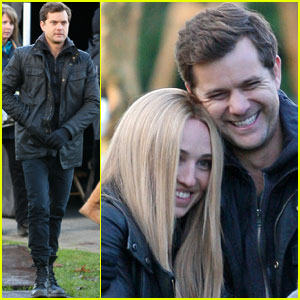 Joshua Jackson: Back To Work On 'Fringe' After Vacay!