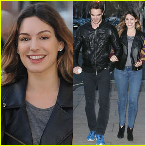 Kelly Brook: Birthday Stroll with Boyfriend Thom Evans!