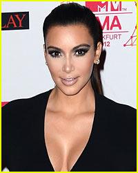 Kim Kardashian Attends Marine Corps Ball!