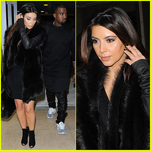 Kim Kardashian & Kanye West: Germany Bound Couple!