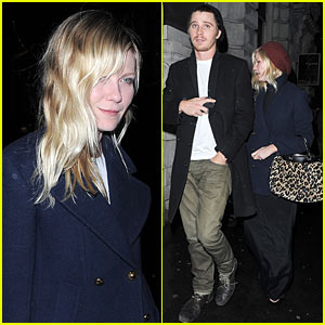 Kirsten Dunst & Garrett Hedlund: Thanksgiving in London!
