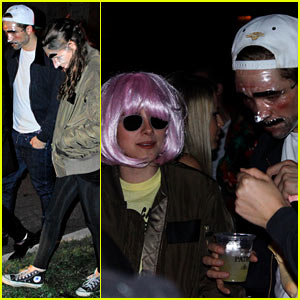 Kristen Stewart &#038; Robert Pattinson: Halloween Party Pair!