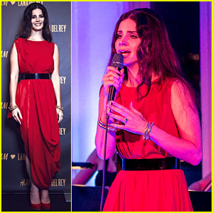Lana Del Rey: H&M Berlin Showroom Concert!