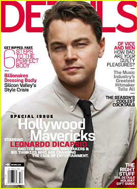 Leonardo DiCaprio Covers 'Details' Hollywood Mavericks Issue