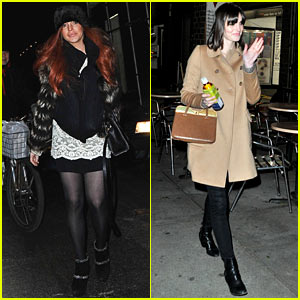 Lindsay & Aliana Lohan: Night Out in New York City!