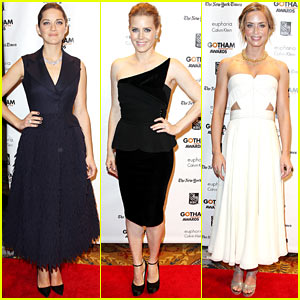 Marion Cotillard & Amy Adams: Gotham Independent Film Awards!